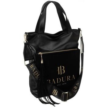 Tassen Dames Handtassen lang hengsel Badura 126070 Noir