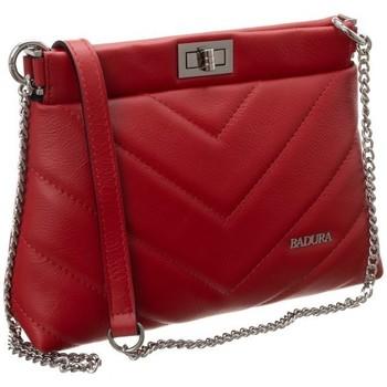 Tassen Dames Handtassen kort hengsel Badura 81610 Rouge