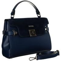 Tassen Dames Handtassen kort hengsel Badura TD208GNCE Bleu marine