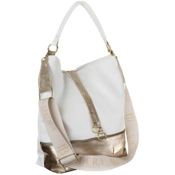 Tassen Dames Handtassen kort hengsel Badura 115970 Blanc