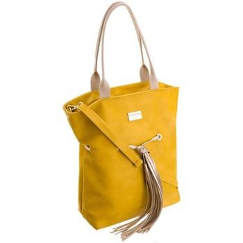 Tassen Dames Handtassen kort hengsel Badura 59460 Jaune