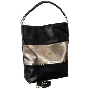 Tassen Dames Handtassen kort hengsel Badura 126060 Noir, Doré