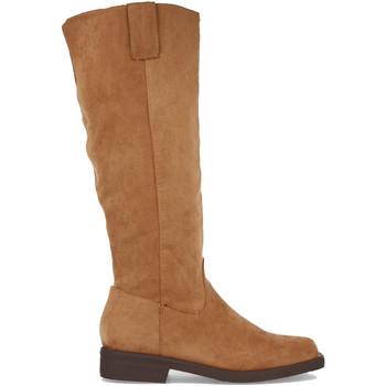 Schoenen Dames Hoge laarzen Buonarotti 2A-1498 Camel