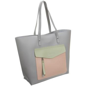 Tassen Dames Handtassen kort hengsel Monnari 73430 Gris