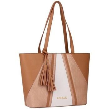Tassen Dames Handtassen kort hengsel Monnari 113080 Beige