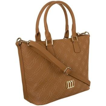 Tassen Dames Handtassen kort hengsel Monnari 118120 Beige