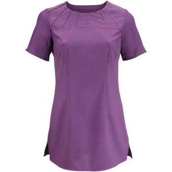 Textiel Dames T-shirts korte mouwen Alexandra AX002 Amethist