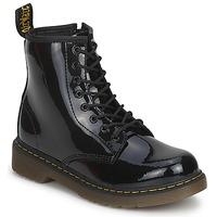 Schoenen Meisjes Laarzen Dr Martens DELANEY Zwart
