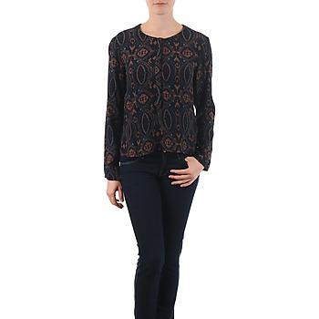 Textiel Dames Tops / Blousjes Antik Batik VEE Zwart