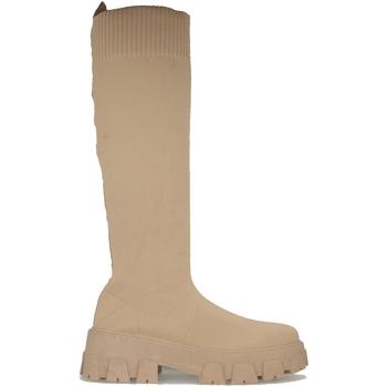 Schoenen Dames Hoge laarzen Buonarotti 2AP-1435 Camel