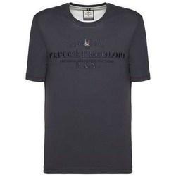 Textiel Heren T-shirts korte mouwen Aeronautica Militare TS1784 Bleu marine