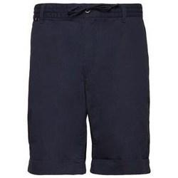 Textiel Heren Korte broeken / Bermuda's Aeronautica Militare 201BE082CT2601 Bleu marine