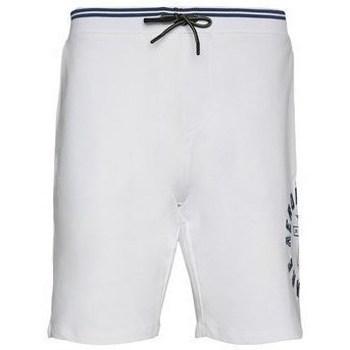 Textiel Heren Korte broeken / Bermuda's Aeronautica Militare BE109F41973 Blanc