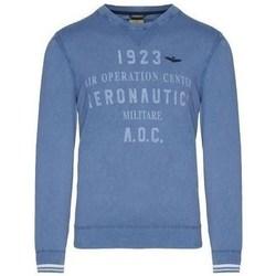 Textiel Heren Truien Aeronautica Militare MA1327L43421 Bleu