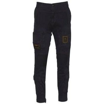 Textiel Heren Broeken / Pantalons Aeronautica Militare 202PA939CT27688 Noir