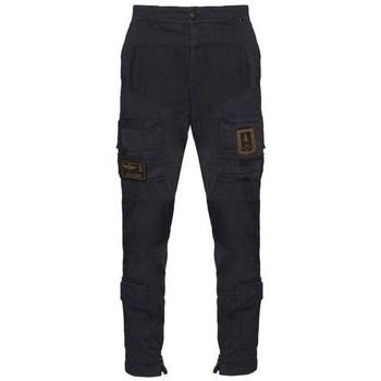 Textiel Heren Cargobroek Aeronautica Militare PA1387CT149308 Noir