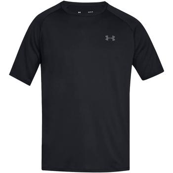 Textiel Heren T-shirts korte mouwen Under Armour UA005 Zwart/Grafiet