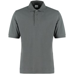 Textiel Heren Polo's korte mouwen Kustom Kit KK460 Donkergrijs