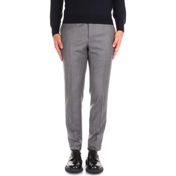 Textiel Heren Anzughosen Incotex ZR851Z 1645T Grey