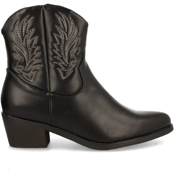 Schoenen Dames Enkellaarzen Clowse VR1-331 Negro