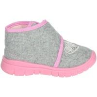 Schoenen Meisjes Babyslofjes Grunland PA0606-48 Grey