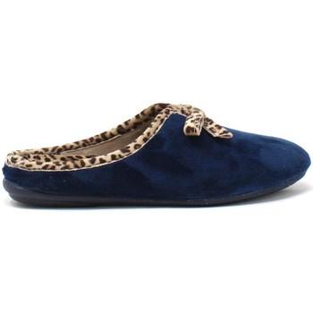Schoenen Dames Sloffen Susimoda 6127 Blauw
