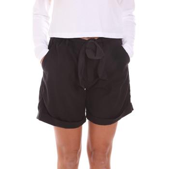 Textiel Dames Korte broeken / Bermuda's Gas 375274 Zwart