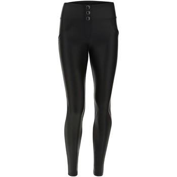 Textiel Dames Broeken / Pantalons Freddy WRUP1MF113 Zwart