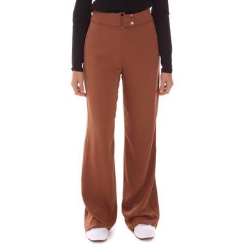 Textiel Dames Losse broeken / Harembroeken Gaudi 121FD25014 Bruin
