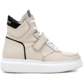 Schoenen Dames Hoge sneakers Café Noir DE1311 Beige