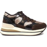 Schoenen Dames Lage sneakers Keys K-5532 Bruin