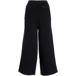 Textiel Dames Broeken / Pantalons Fracomina F321WV2003K45901 Zwart