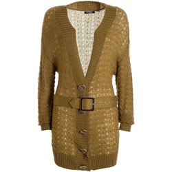Textiel Dames Vesten / Cardigans Fracomina F321WT8006K45801 Groen