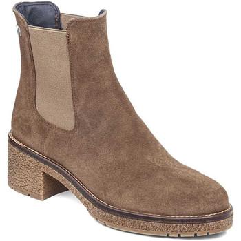Schoenen Dames Enkellaarzen CallagHan 29505 Bruin