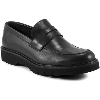 Schoenen Heren Mocassins Exton 662 Zwart