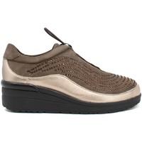 Schoenen Dames Lage sneakers Susimoda 8092 Bruin