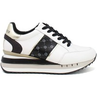 Schoenen Dames Lage sneakers Café Noir DN1150 Wit