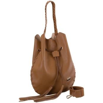 Tassen Dames Handtassen kort hengsel Badura 104790 Marron