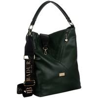 Tassen Dames Handtassen kort hengsel Badura 131130 Vert