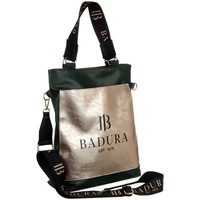 Tassen Dames Handtassen kort hengsel Badura 131100 Noir, Doré