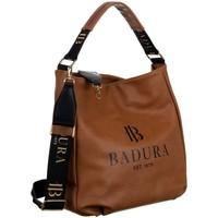 Tassen Dames Handtassen kort hengsel Badura 131060 Marron