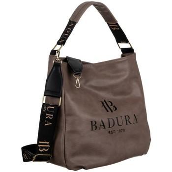 Tassen Dames Handtassen kort hengsel Badura 131030 Beige