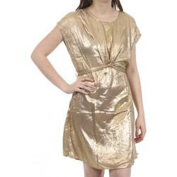 Textiel Dames Korte jurken Deeluxe  Goud