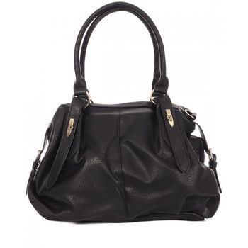 Tassen Dames Handtassen kort hengsel Manoukian  Zwart