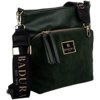 Tassen Dames Handtassen kort hengsel Badura 131240 Vert