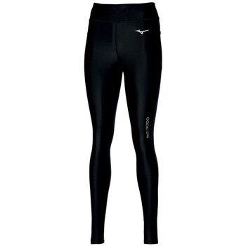 Textiel Dames Broeken / Pantalons Mizuno BG3000 Long Tight W Noir