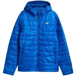 Textiel Heren Jacks / Blazers 4F KUMP005 Bleu