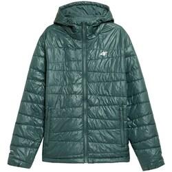 Textiel Heren Jacks / Blazers 4F KUMP005 Vert