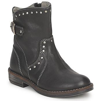 Schoenen Meisjes Laarzen Noel FRANCA Zwart