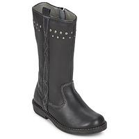 Schoenen Meisjes Hoge laarzen Noel FREESIA Zwart